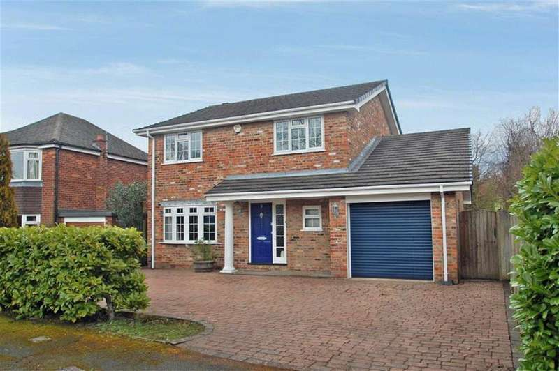 4 Bedrooms Detached House for sale in Campden Way, Handforth, Cheshire