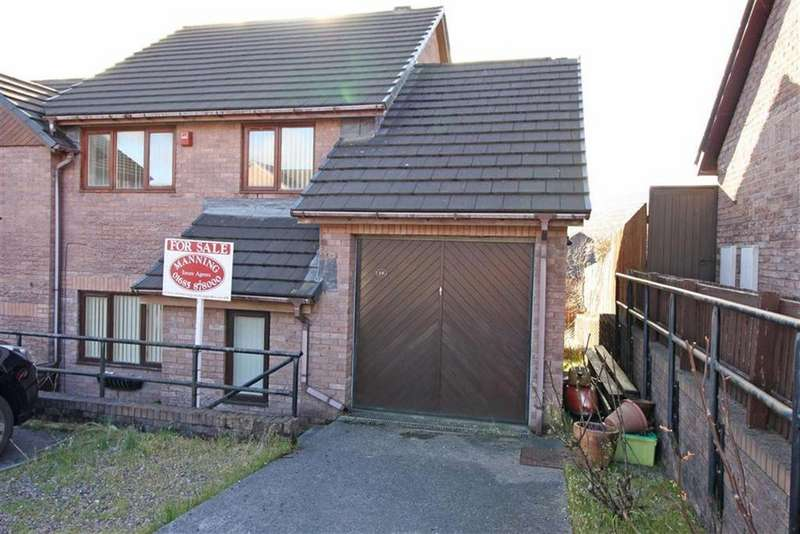 3 Bedrooms End Of Terrace House for sale in Cascade View, Cwmdare, Aberdare, Mid Glamorgan