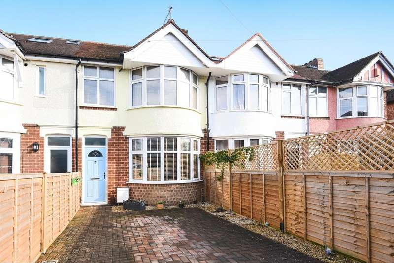 2 Bedrooms House for sale in Courtland Road, Iffley Boarders, Oxford, OX4
