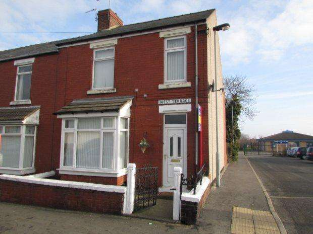 3 Bedrooms Terraced House for sale in WEST TERRACE, SPENNYMOOR, SPENNYMOOR DISTRICT