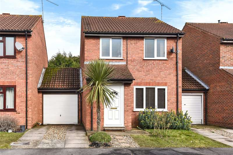 3 Bedrooms Link Detached House for sale in Cross Gates Close, Bracknell, Berkshire, RG12
