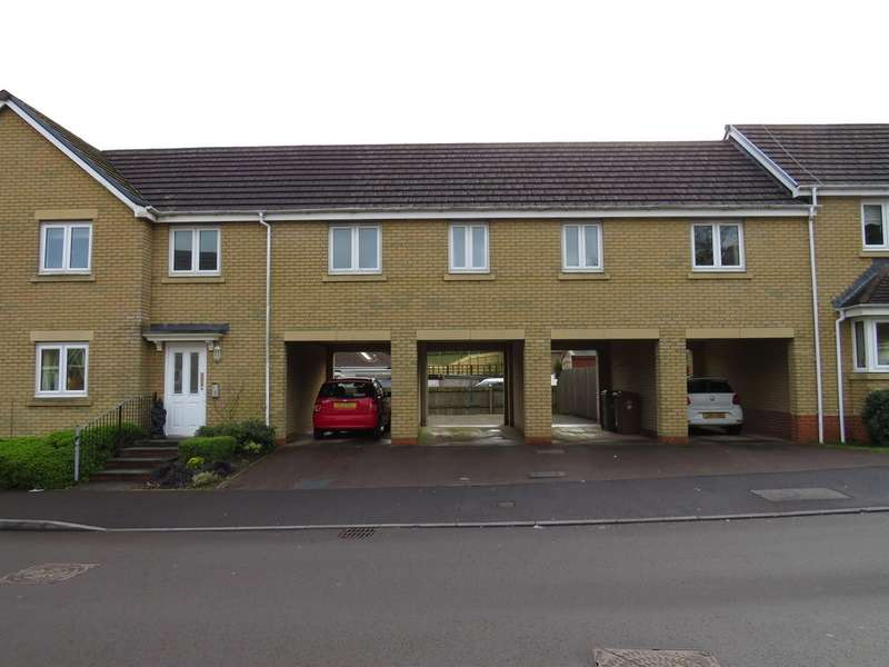 2 Bedrooms Apartment Flat for sale in Woodside Drive, Newbridge, Newport