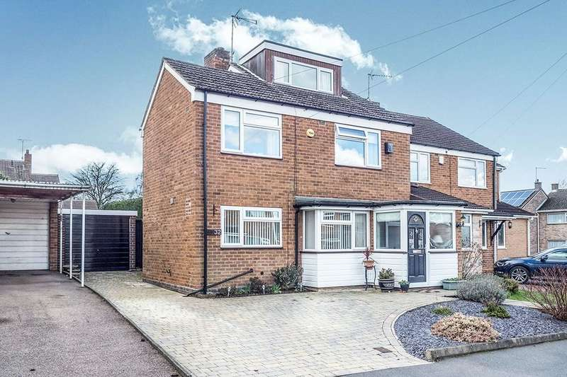 3 Bedrooms Semi Detached House for sale in Okehampton Road, Coventry, CV3