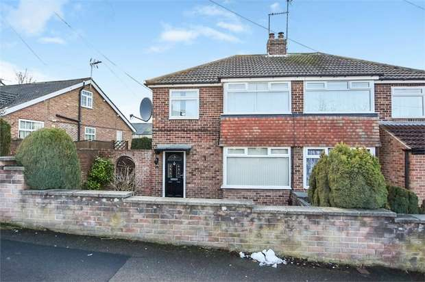 3 Bedrooms Semi Detached House for sale in Knox Avenue, Harrogate, North Yorkshire