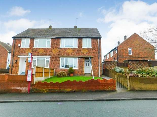 3 Bedrooms Semi Detached House for sale in Ashfield Road, Hemsworth, Pontefract, West Yorkshire