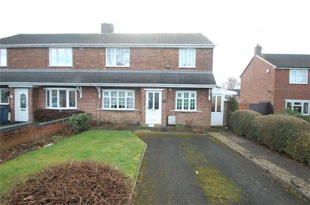 3 Bedrooms Semi Detached House for sale in Greenside Way, WALSALL, West Midlands