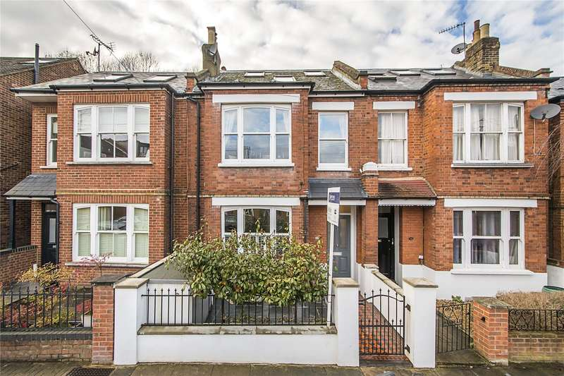 5 Bedrooms Terraced House for sale in Brandlehow Road, London, SW15