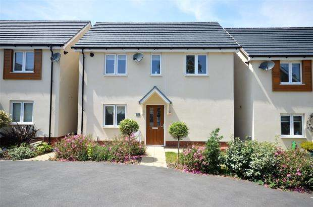 4 Bedrooms Detached House for sale in Coburg Crescent, Chudleigh, Newton Abbot, Devon
