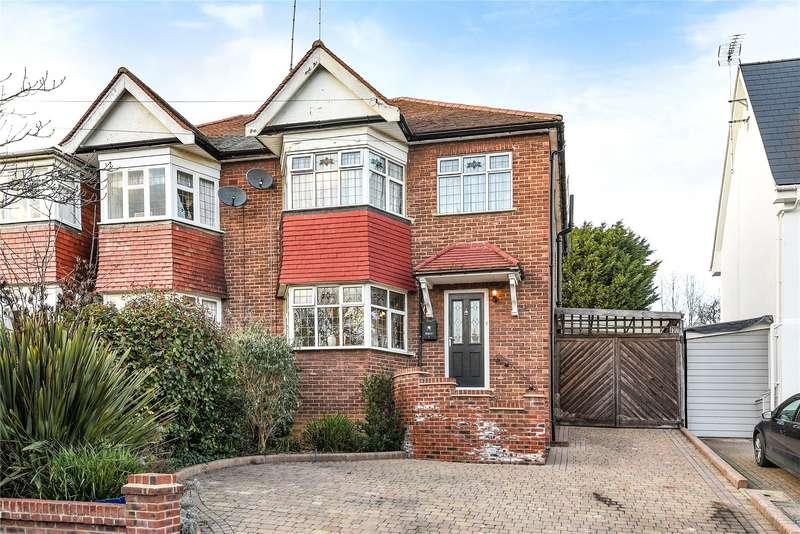 3 Bedrooms Semi Detached House for sale in Amberley Road, Buckhurst Hill, Essex, IG9