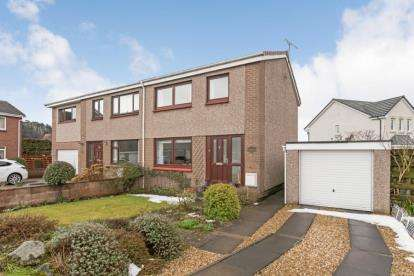 3 Bedrooms Semi Detached House for sale in Lothian Crescent, Stirling