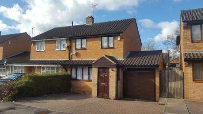 3 Bedrooms Semi Detached House for sale in Dexter Avenue, Oldbrook, Milton Keynes