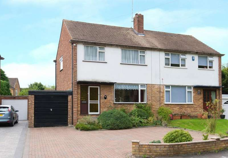 3 Bedrooms Semi Detached House for sale in Laurel Close, Hutton, Brentwood, Essex