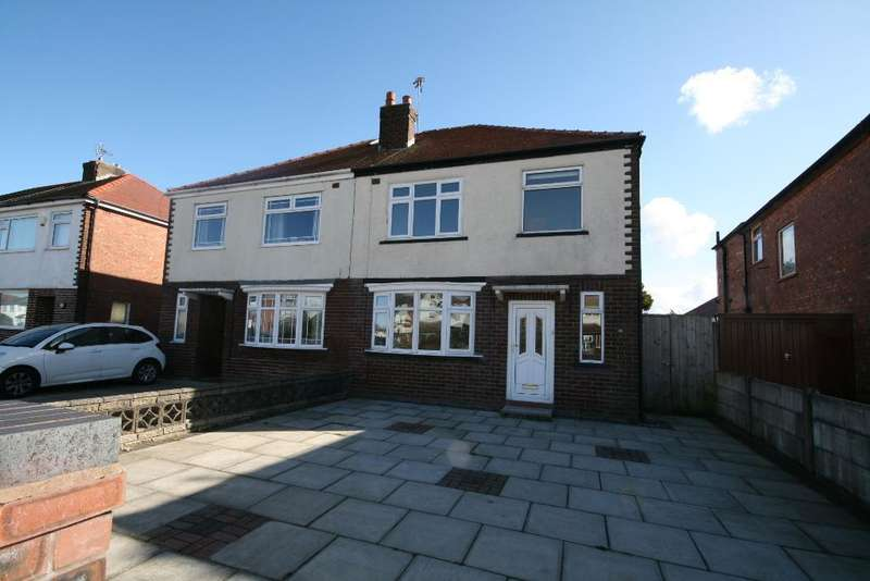 3 Bedrooms Semi Detached House for rent in Lexton Drive, Churchtown, Southport, PR9 8QW