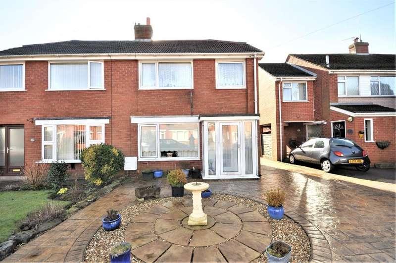 3 Bedrooms Semi Detached House for sale in Marsh View, Newton, Preston, Lancashire, PR4 3SX