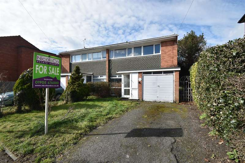3 Bedrooms Semi Detached House for sale in Comer Gardens, St Johns, Worcester
