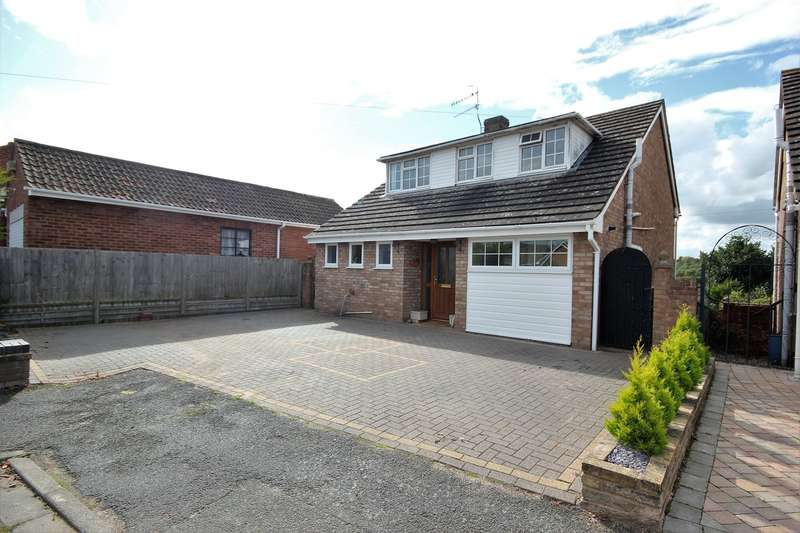3 Bedrooms Detached House for sale in Lucerne Close, Northwick, Worcester, WR3