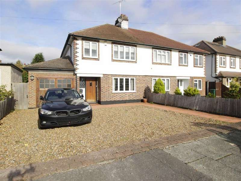 3 Bedrooms Semi Detached House for sale in Hurstdene Avenue, Hayes, Kent