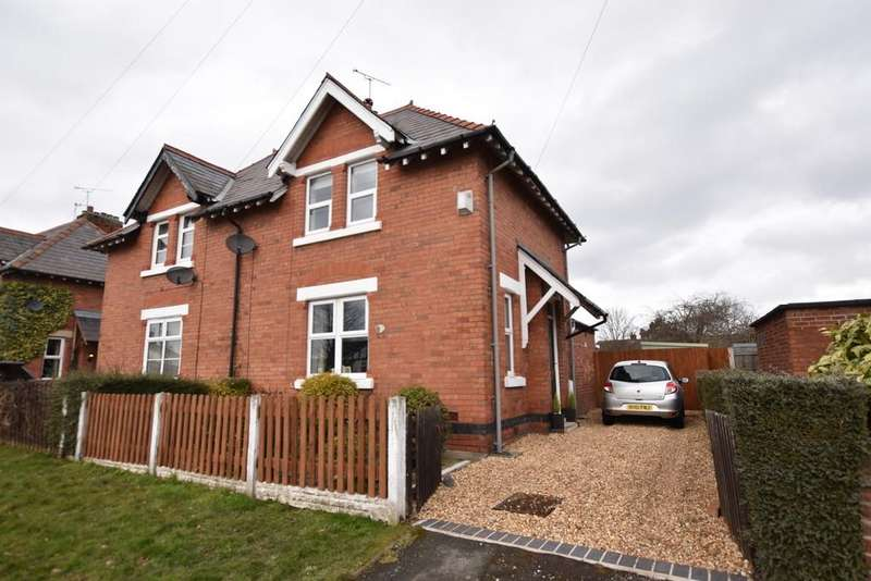 2 Bedrooms Semi Detached House for sale in Saughall Road, Blacon