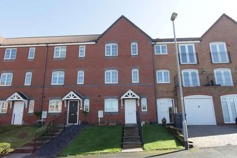 3 Bedrooms Town House for sale in Palmerston Avenue, Wilnecote