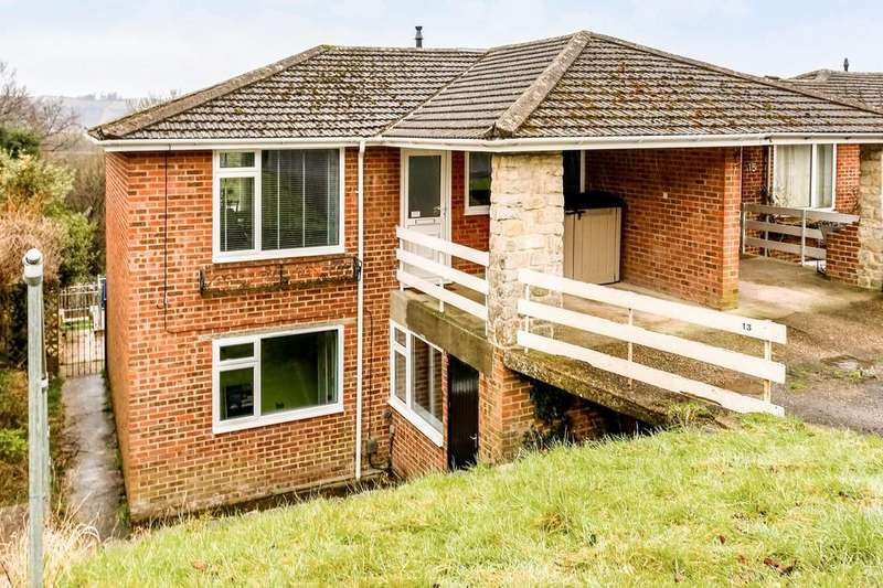 3 Bedrooms Semi Detached House for sale in Chalk Ridge, Winchester, SO23