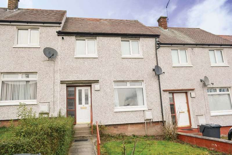 2 Bedrooms Terraced House for sale in Westerton, Cowie, Stirling, FK7 7AN