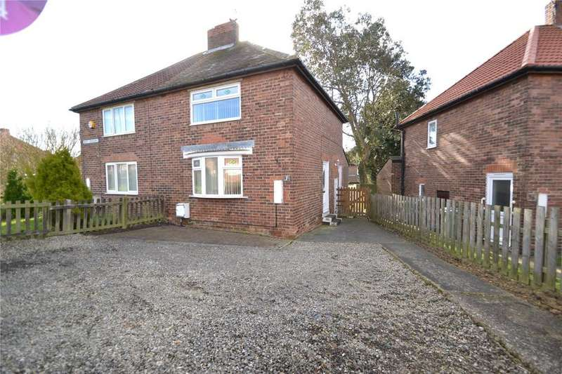 2 Bedrooms Semi Detached House for sale in West Crescent, Easington, Peterlee, Co.Durham, SR8