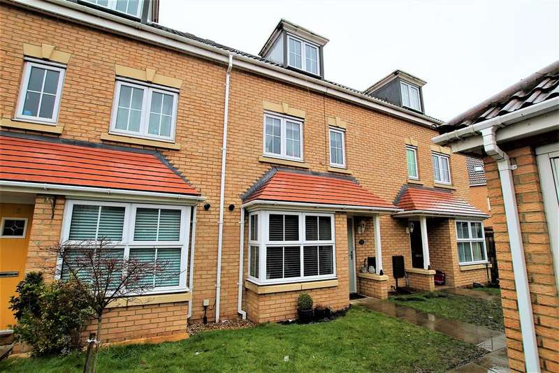4 Bedrooms Terraced House for sale in Fescue Close, Stockton-On-Tees