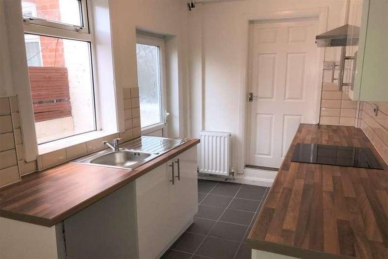3 Bedrooms Terraced House for rent in Bainbridge Road, Mansfield, Nottinghamshire