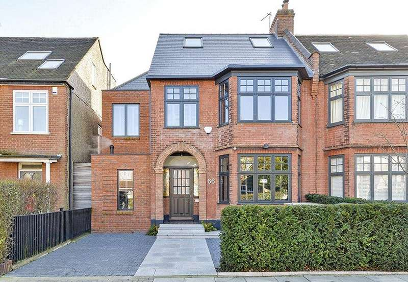 4 Bedrooms Semi Detached House for sale in Hardinge Road, Kensal Rise, London, NW10