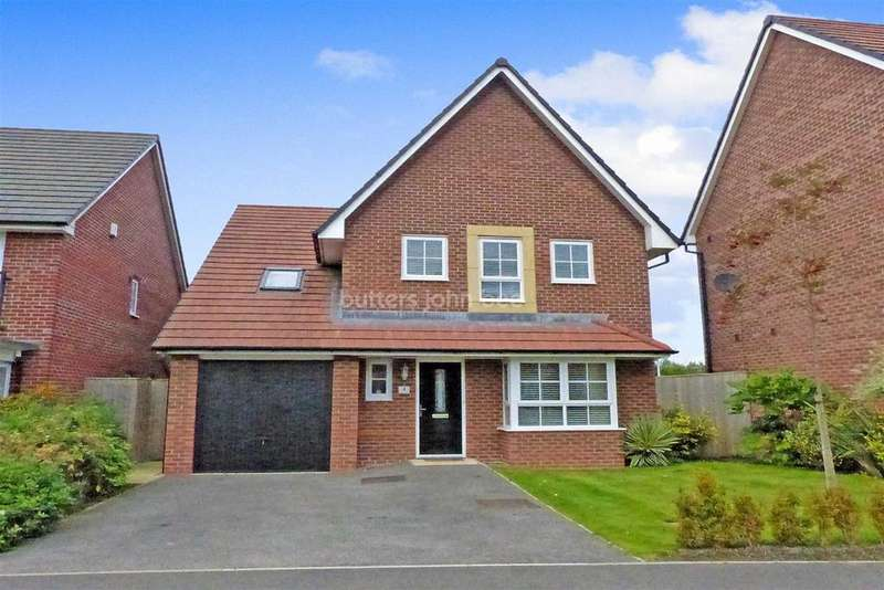 5 Bedrooms Detached House for sale in Silverlea Road, Lostock Gralam