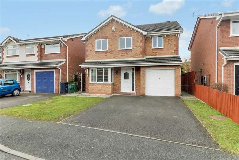 4 Bedrooms Detached House for sale in Hawkshead Way, Winsford, Cheshire
