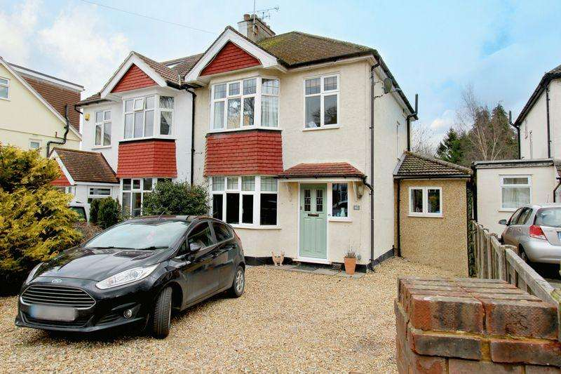 3 Bedrooms Semi Detached House for sale in Markfield Road, Caterham
