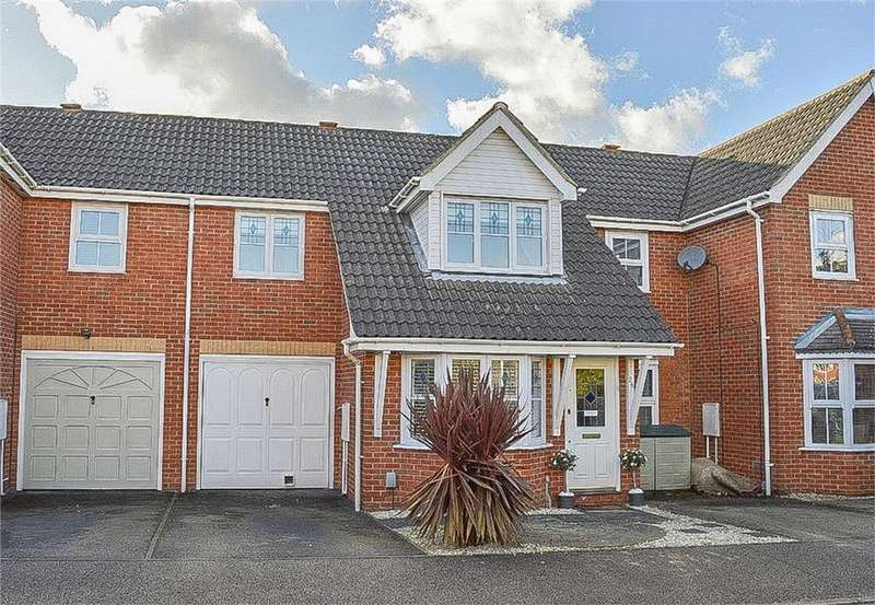 3 Bedrooms Terraced House for sale in Marguerite Way, BISHOP'S STORTFORD, Hertfordshire