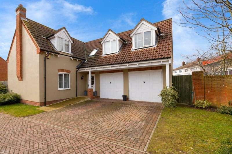 4 Bedrooms Detached House for sale in Millers Close, Rippingale, Bourne, PE10