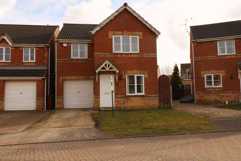 3 Bedrooms Detached House for rent in Gloucester Court, Scunthorpe