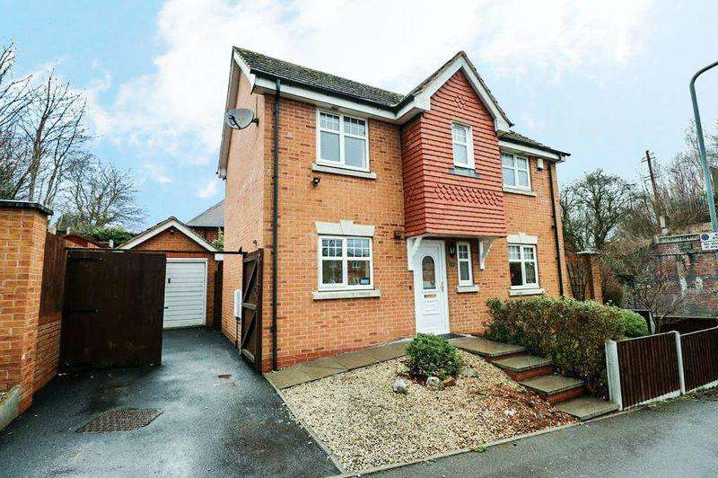 3 Bedrooms Detached House for sale in Oxford Way, Tipton