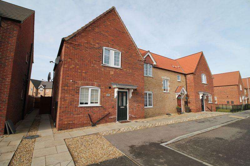 3 Bedrooms End Of Terrace House for sale in Poppy Close, Spalding