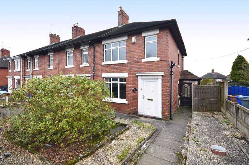 3 Bedrooms Semi Detached House for sale in Hartwell Road, Meir, ST3 7BB