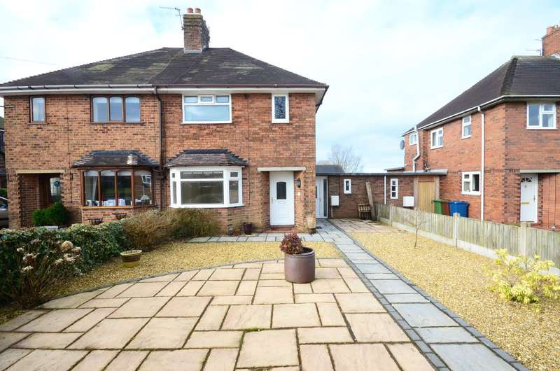 3 Bedrooms Semi Detached House for rent in West View, Rough Close, ST3 7PH