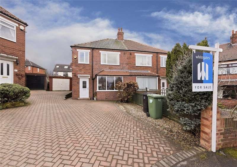 3 Bedrooms Semi Detached House for sale in Calverley Garth, Leeds, West Yorkshire, LS13