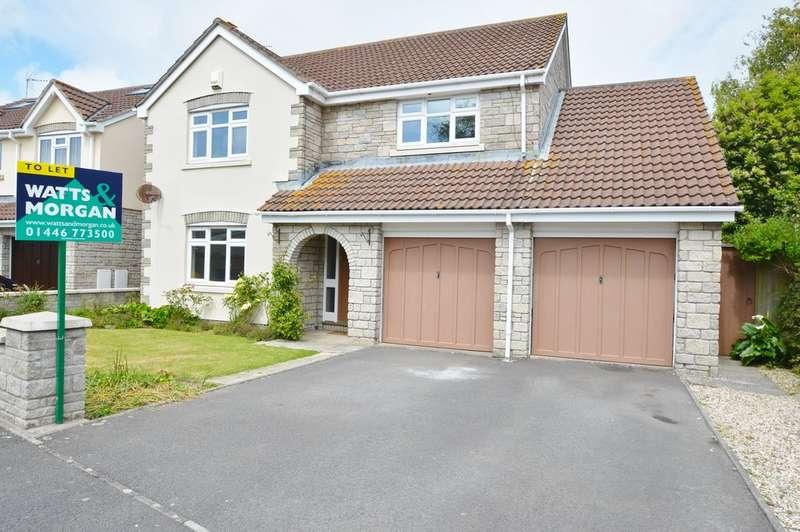 4 Bedrooms Detached House for rent in Heol Pentre Felin, Llantwit Major,Vale of Glamorgan,CF61 2XS