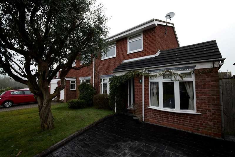 3 Bedrooms Semi Detached House for sale in Waltham Close, Bromsgrove