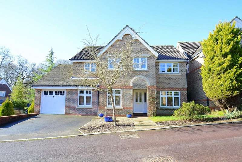 4 Bedrooms Detached House for sale in Merryfield Close, VERWOOD