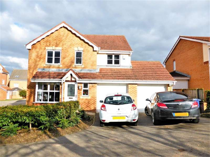 4 Bedrooms Detached House for sale in The Leylands, Barnsley, S75 1HD