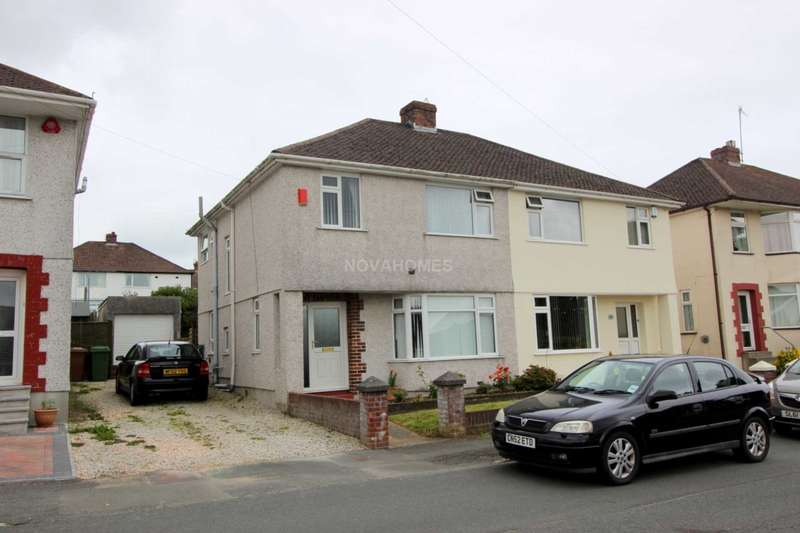 3 Bedrooms Semi Detached House for sale in Woodford Avenue, Plympton, PL7 4QP