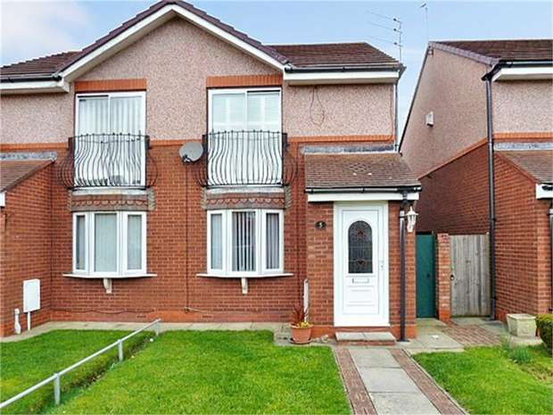 2 Bedrooms Semi Detached House for sale in Hedley Court, Blyth, Northumberland