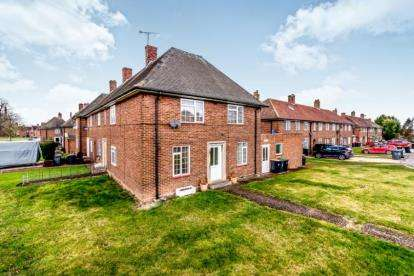 3 Bedrooms End Of Terrace House for sale in Alexander Close, Stewartby, Bedford, Bedfordshire