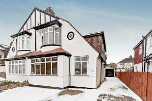 4 Bedrooms Semi Detached House for sale in Stoneleigh Park Avenue, Shirley, Croydon, Surrey