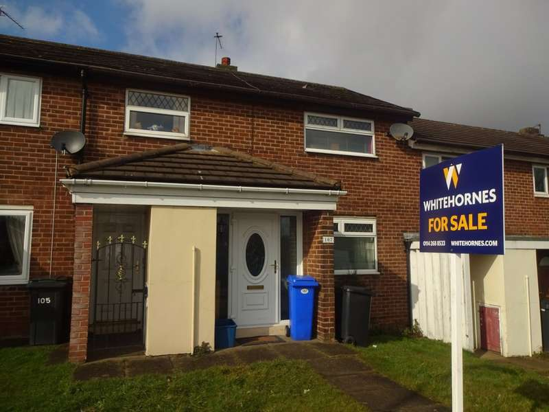 3 Bedrooms Terraced House for sale in Blackstock Road, Gleadless Valley