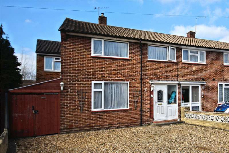 4 Bedrooms Semi Detached House for sale in Bunyard Drive, Sheerwater, Woking, Surrey, GU21